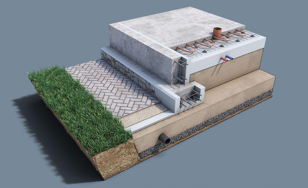 УШП-фундамент 35 фото что это такое технология возведения конструкции с использованием шведской плиты утепленный финский вариант плюсы и минусы