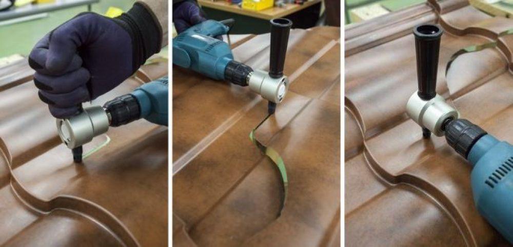 насадки для резки металлочерепицы