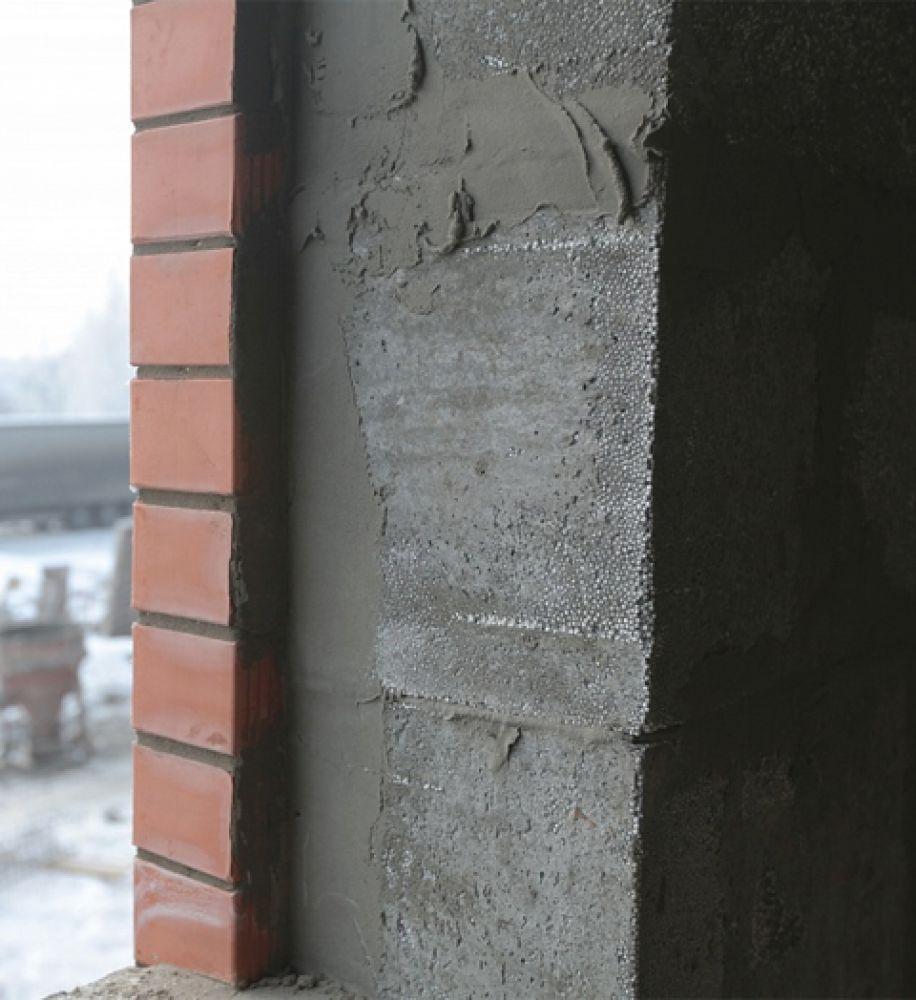 штукатурка полистиролбетонных блоков