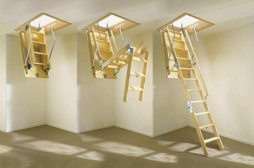 Каталог Чердачные лестницы для мансард и чердачных